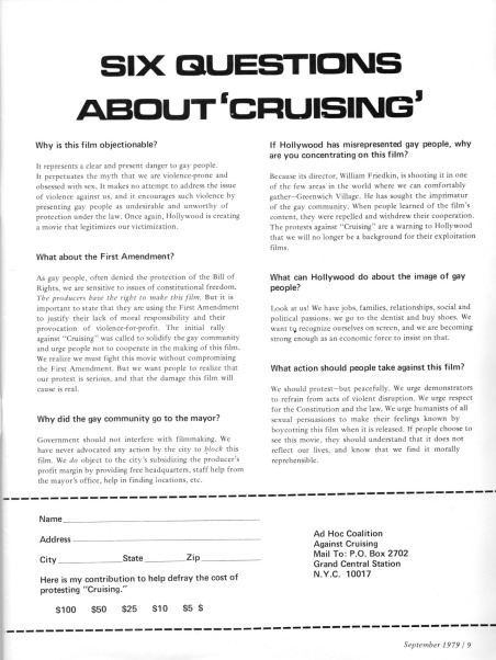 6 Questions about Cruising